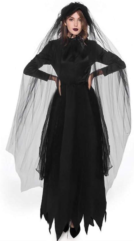 SHANGLY Halloween Carnaval Bruja Cosplay Disfraces Mujeres Adultas ...