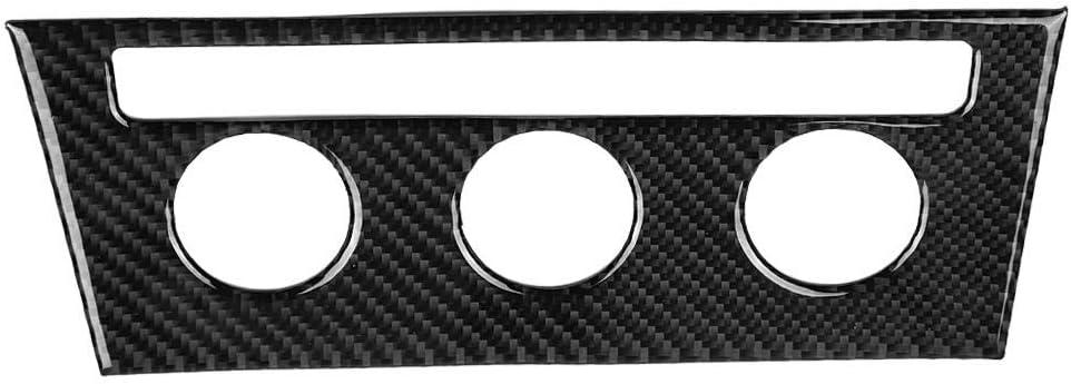 Housesweet Panel de fibra de carbono para consola central de coche calcoman/ía para BMW 3 Series 4 F30 F31 marco de ventilaci/ón de aire para interior de coche marco de salida A//C