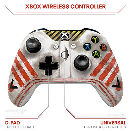 Controller Gear Star Wars: Squadrons, Wireless Controller and Pro Charging Stand Bundle for Xbox, Limited Edition, Officially Licensed By Disney, Lucasfilms Ltd, Microsoft Xbox - Xbox One (ELDSXBWCR-0MNWR)