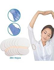 StillCool Almohadillas Sudor de las axilas 100/200 Hojas, Absorción de la humedad contra el calor.La coloración de desodorante, puro de color suave absorbente.