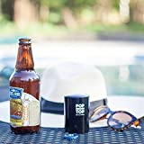PoptheTop Bottle Opener (Stainless): Push down, Pop off Bottlecaps with no Damage - by