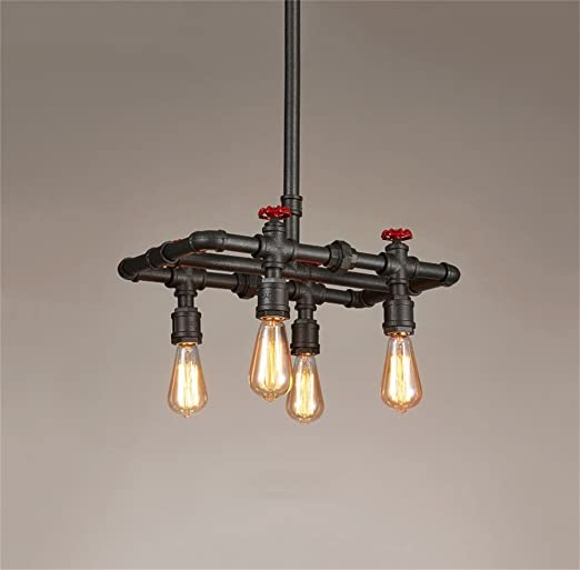35d354c1742 Chandeliers American Rustic Style Nordic Postmodern Vintage Lamp American  Style Industrial Winds Creative Personality 4