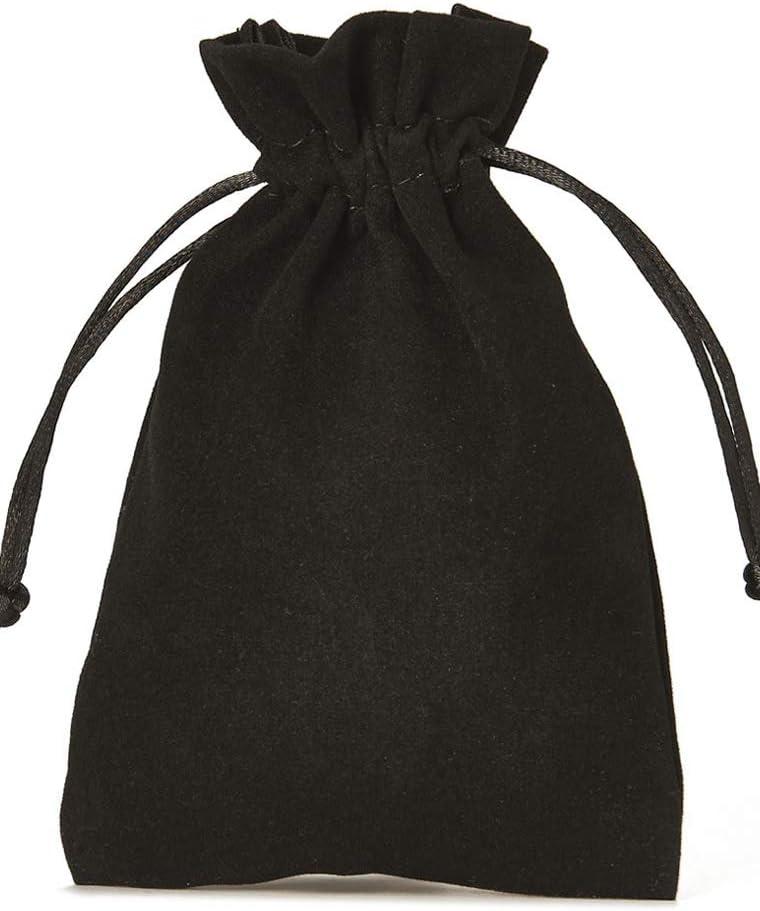 No/ël emballage cadeau /él/égant pour bijoux Lot de 10 sacs en velours avec cordeli/ère le calendrier de l`Avent dimension 30 x 20 cm produits cosm/étiques