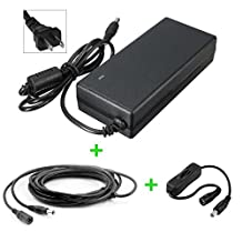 12V Maxtor Shared Storage 200GB External hard drive replacement power supply adaptor - US plug - Premium