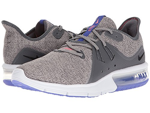 Nike Men's Air Max Sequent 3 Running Shoe (6.5, Dark Grey/Black-Moon Particle) by Nike (Image #6)