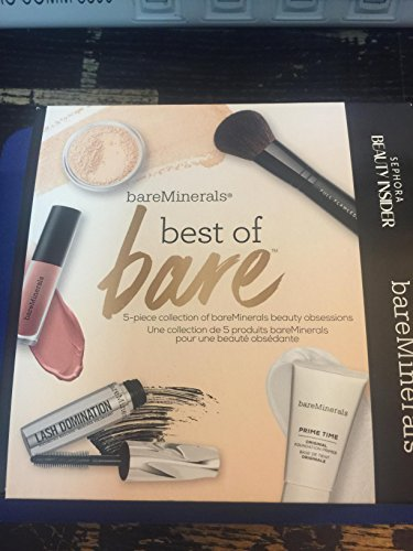 BareMinerals best of Bare 5-piece Collection of Bareminerals Beauty Obsessions ()