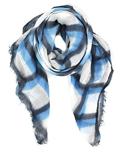 Destin Blue Grey Jade Checkered Quadra - Mall Destin