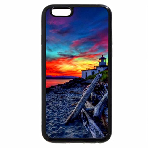 iPhone 6S / iPhone 6 Case (Black) Lovely place at sunset