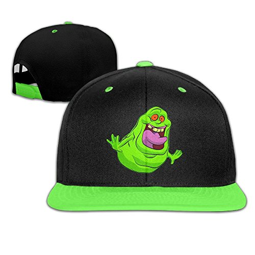 Ghostbusters Slimer Logo Designed Girl Boy Kid Hip-hop Baseball Hat Cotton Stylish (Ghostbuster Accessories)