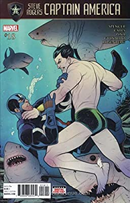 Amazon com: Captain America: Steve Rogers #18 FN