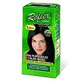 - Naturtint - Reflex Non Permanent Colour Rinse - 1.0 Black   90ml   BUNDLE by Naturtint