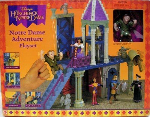 Disney's Hunchback of Notre Dame ADVENTURE Playset by AFLOT2-TOY-NTRDAME-026676662229-N ()