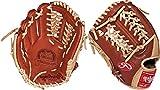 Rawlings Pro Preferred 11.5-inch Infield Baseball Glove, Left-Hand Throw (PROS15MTBR)
