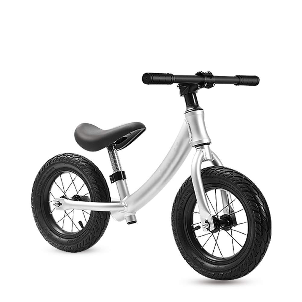 AMYDREAMSTORE Bebé Bicicleta sin Pedales, 12 Pulgadas Ligero No ...