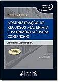 capa de Administração De Recursos Materiais E Pratimoniais Para Concursos. Abordagem Completa