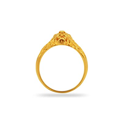 Buy Joyalukkas Impress Collection 22k Yellow Gold Ring line at