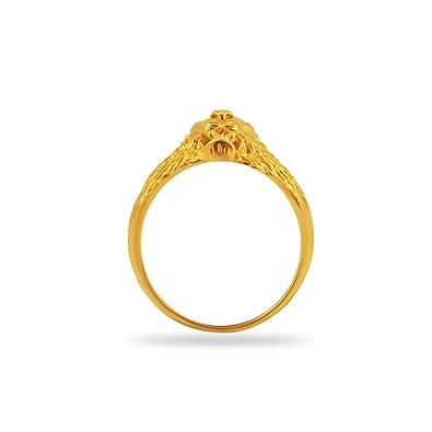 Buy Joyalukkas Impress Collection 22k Yellow Gold Ring Online at