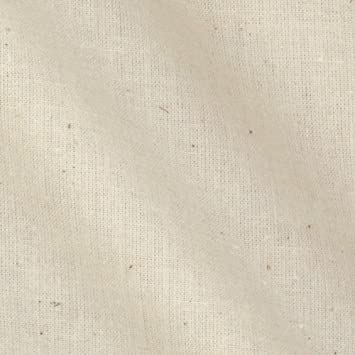 Muslin Fabric Natural 100% Cotton Fabric, 60 Inches Wide, Sold By The Yard