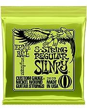 Ernie Ball Regular Slinky 8-String Nickel Wound Electric Guitar Strings - 10-74 Gauge