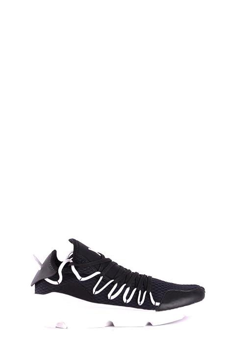 Sconosciuto Sneaker Y-3 Kusari in Mesh e Pelle Nera