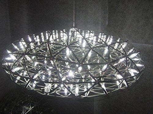 Raymond Glass Pendant - Modern pendant lamp modern chandelier LED oval chandelier chandelier Fireworks Raymond stainless steel ball chandelier