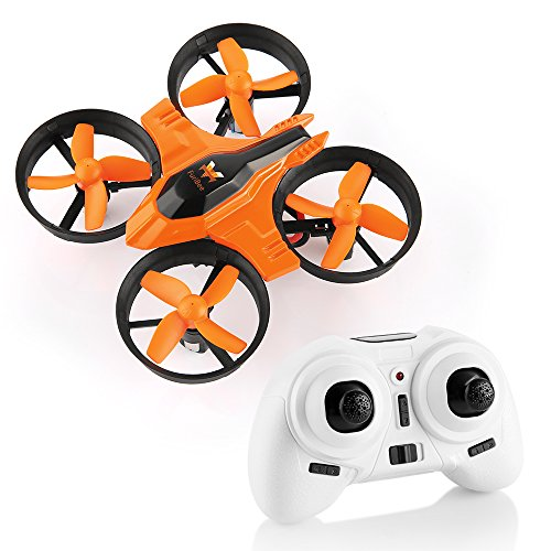 Mini Quadcopter Drone, F36 Mini RC Drone 2.4G 4CH 6Axis Gyro Remote Control Nano Drone RTF for Kids Adults Beginners - Headless Mode, 3D Flip, One Key - Charger Min Battery 30
