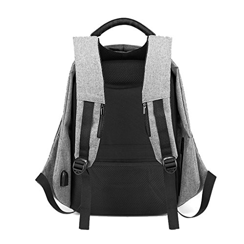 de Mochila Gris Theft De Pulgadas Bolsa 15 Bolsas Bag High Package Viaje Negocios De Capacity Laptop Negro Multifunction Anti 6 hombres Hombres Color Male ZCJB TqxYw5Sfx
