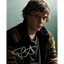 Evan Peters Signed Autographed 8 x 10 Photo