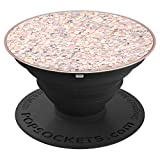 Sparkle Rose - Pink and multicolored sparkles - PopSockets Grip and Stand for Phones and Tablets
