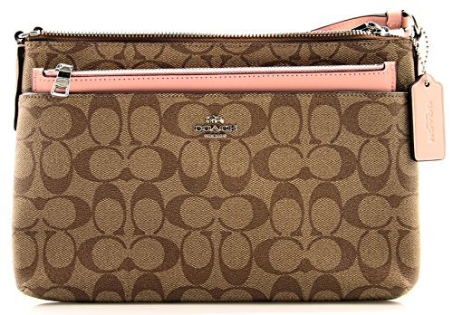 COACH East/West Crossbody With Pop Up Pouch In (Small Coach Bag)