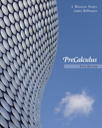 Bundle: Precalculus, 5th + WebAssign Printed Access Card for Faires/DeFranza's Precalculus, 5th Edition, Single-Term
