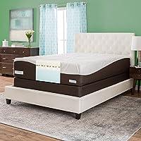 Simmons Beautyrest ComforPedic from Beautyrest 14-inch King-size Memory Foam Mattress Set