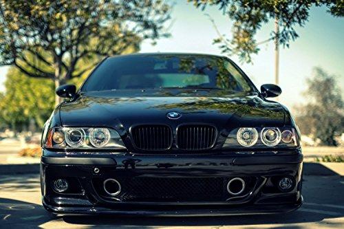 BMW M5 E39 Black Car Poster 13x19