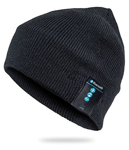 Amazon.com  All-Weather Soft Bluetooth Beanie Black BT-HAT-BLK  Electronics a9a66aade251