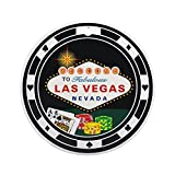 CafePress - Las Vegas Poker Chip Design Ornament (Round) - Round Holiday Christmas Ornament