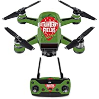 Skin for DJI Spark Mini Drone Combo - Strawberry Fields Forever| MightySkins Protective, Durable, and Unique Vinyl Decal wrap cover | Easy To Apply, Remove, and Change Styles | Made in the USA