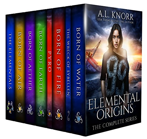 Elemental Origins: The Complete Series: (Water, Fire, Earth, Air, Aether, Ensemble Novel) by [Knorr, AL]