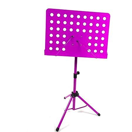 WH-IOE Partitura Stands Soporte Musical Plegable Guitarra Violín ...