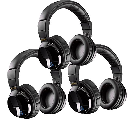 th Bundle - Includes Three Pairs of Kicker Tabor Wireless Headphones ()