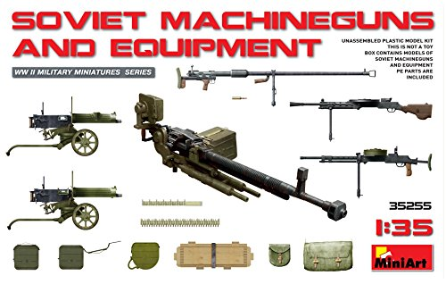 Miniart 1:35 - Soviet Machine Guns & Equipment for sale  Delivered anywhere in USA