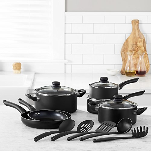 AmazonBasics 15-Piece Non-Stick Cookware Set by AmazonBasics (Image #1)