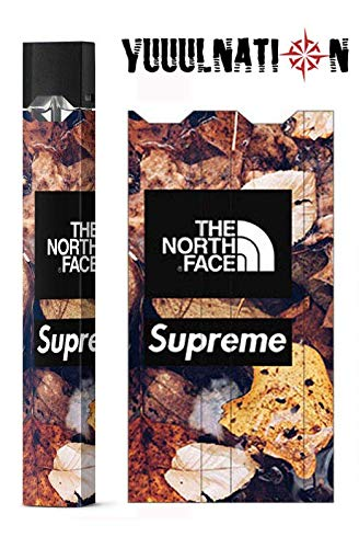 - YuuulNation Juul Skin, Wrap, Vinyl, Decal,, FULL SIZE, NO GAP (North Face/Supreme)