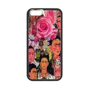 "DDOUGS I Frida kahlo High Quality Cell Phone Case for Iphone6 Plus 5.5"", Personalized I Frida kahlo Case"