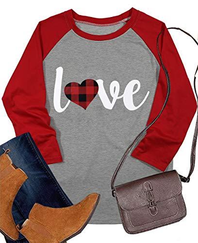 Heart Baseball T-Shirt - 2