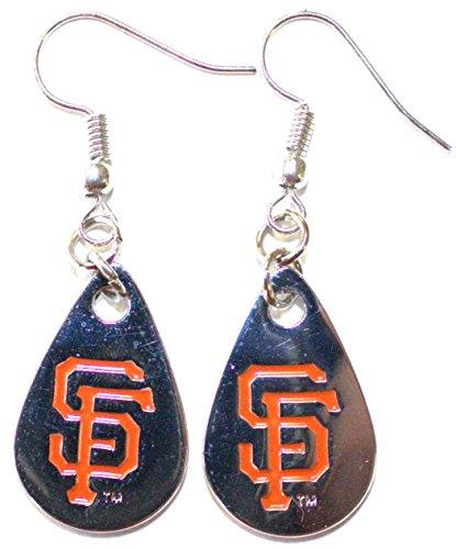 (MLB San Francisco Giants Tear Drop Dangler Earrings)