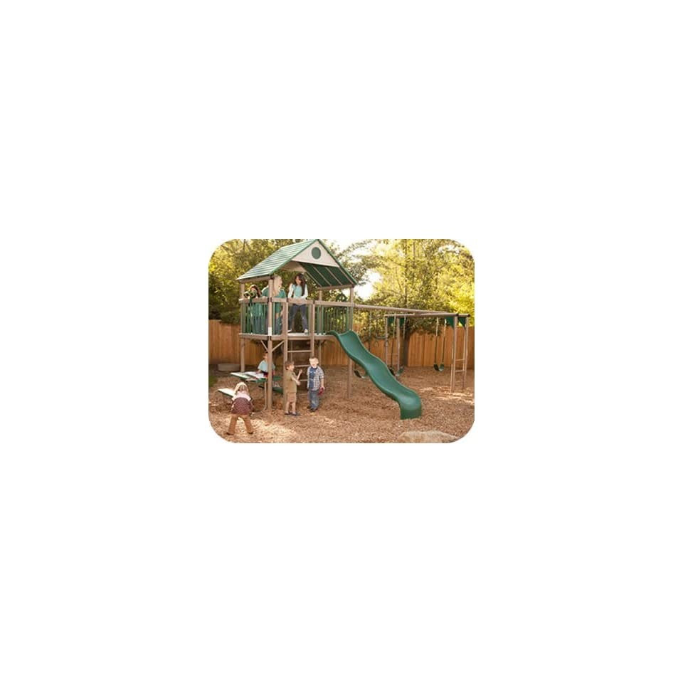Lifetime Deluxe Commercial Grade Metal Playset w/ Clubhouse