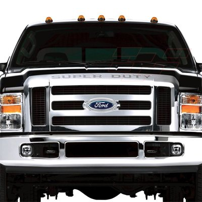 Amazon.com: Ford Super Duty Front Grille Chrome Letter ...