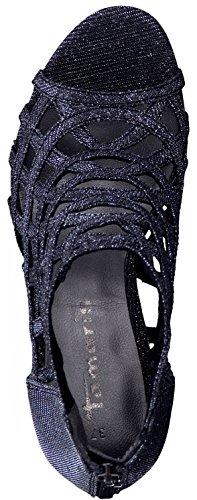 Frau Bequeme Schuhe Schwarz 28388 Sandalette Sommerschuhe modebewusste Sandalen 1 Tamaris 1 38 für Damen 7TxX6nngw