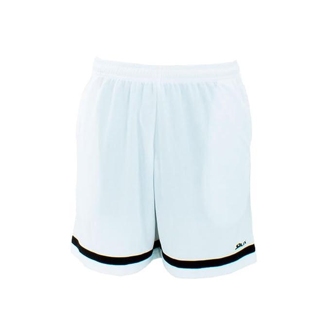 Siux Pantalon Corto CALIXTO Blanco Negro: Amazon.es: Deportes y ...