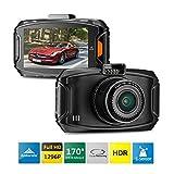 "Susay® GS90C Car DVR Dash Cam Camera Recorder Super Full HD 1296P Ambarella A7LA70 2.7"" LCD 170 Wide Angle Lens HDR Night Vision G-Sensor GPS logger ADAS"
